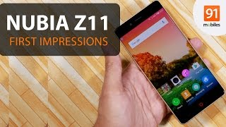 Download ZTE nubia Z11: First Look | Hands on | Price Video