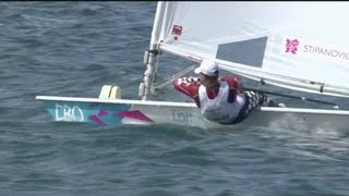 Download Tom Slingsby (AUS) Wins Men's Laser Sailing Gold - London 2012 Olympics Video