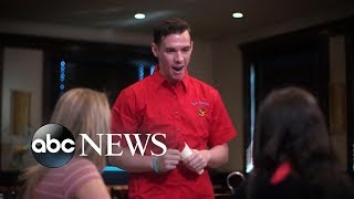 Download Customers ridicule waiter for stuttering | What Would You Do? | WWYD Video