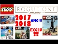 Download OMG!!! LEGO STAR WARS ROGUE ONE Set Ideas! (2017/2018) Video