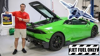 Download PUTTING JET FUEL IN MY LAMBORGHINI Video