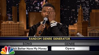 Download Musical Genre Challenge with Jamie Foxx Video