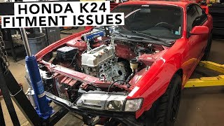 Download Is The K24 Going to Fit? - Honda K-Swap 240SX Video