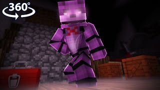 Download Five Nights At Freddy's - ANIMATRONIC VISION! - Minecraft 360° Video Video