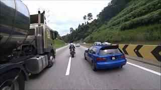 Download 250km/h Lady Rider - Karak Highway Video