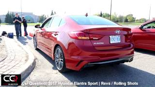 Download 2017 Hyundai Elantra Sport Engine sound / Rolling shots | THE Most Complete review Part 6/6 Video