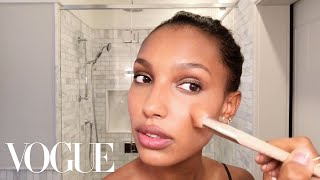 Download Victoria's Secret Angel Jasmine Tookes Teaches a Master Class in Glowing Skin | Vogue Video