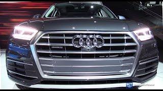 Download 2018 Audi Q5 2.0T Quattro - Exterior and Interior Walkaround - Debut at 2016 LA Auto Show Video