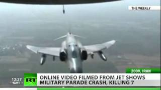 Download Shocking video: Iran IL-76 plane crash filmed from C-130 Hercules Video