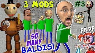 Download BALDI's BASICS of FNAF EDUCATION & CLONING MOD + I'M BALDI vs. Principal (FGTEEV Cheat Escape #3) Video