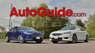 Download 2015 Honda Accord Hybrid vs. 2015 Ford Fusion Hybrid Video