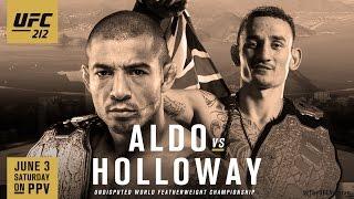 Download UFC 212: Aldo vs. Holloway Promo Video