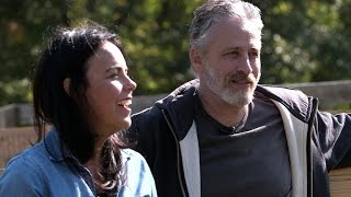 Download Jon Stewart and wife on life after ″Daily Show″ Video