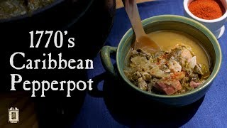 Download Caribbean Cooking In The 18th Century - Pepperpot from the 1700's Video