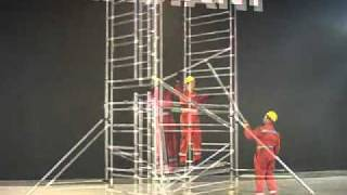 Download Build a Scaffold Tower in Compliance with EN1004 & WAHR - INSTANT UPRIGHT ZIP UP Video