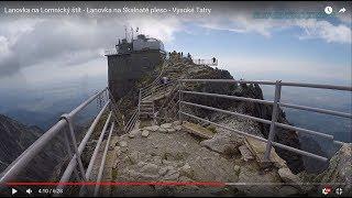 Download Lanovka na Lomnický štít - Lanovka na Skalnaté pleso - Vysoké Tatry Video