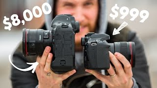 Download $1,000 Camera VS $8,000 Camera!! Video