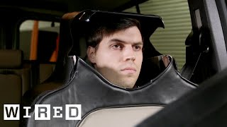 Download Man Dresses as a Car Seat in the Name of Self-Driving Science | WIRED Video