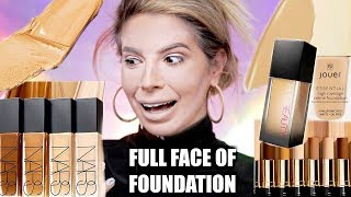 Download FULL FACE USING ONLY FOUNDATION | OMG.. Video