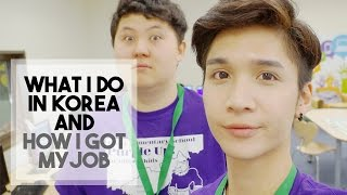 Download WHY I'M IN KOREA / HOW I GOT MY JOB - Edward Avila Video