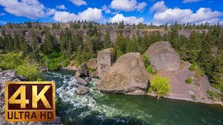 Download (7 hours) 4K Relax Video with Nature Sounds - Bowl and Pitcher Trail at Riverside State Park Video