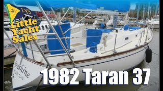 Download 1982 Tartan 37 Sailboat for sale at Little Yacht Sales, Kemah Texas Video