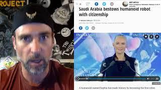Download Robot ″Sophia″ Gets Citizienship in Saudi Arabia, unprecedented Move,Rise of the Machines Video
