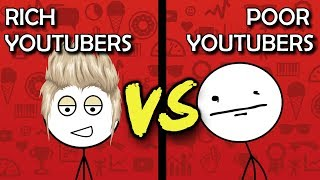 Download Poor YouTubers VS Rich YouTubers Video