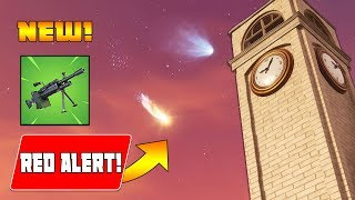 Download *NEW UPDATE* NEW METEOR has HIT 'TILTED TOWERS!' - NEW LMG & 50vs50 (Fortnite Battle Royale) Video