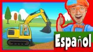 Download Vehículos de construcción para niños con Blippi | La canción de la Excavadora Video