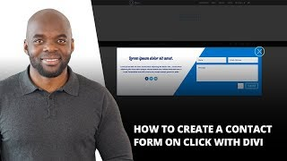 Download How to Create a Contact Form on Click with Divi Video