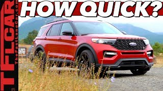 Download The 2020 Ford Explorer ST is a Three-Row Hot Hatch With One Surprising Flaw! Video