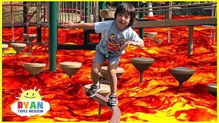 Download The floor is Lava challenge Family Fun Kids Pretend playtime with Hide N Seek and Chase Video