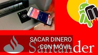 Download Sacar dinero del cajero con el móvil en Banco Santander Video