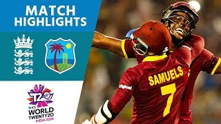 Download ICC #WT20 Final - England vs West Indies - Match Highlights Video