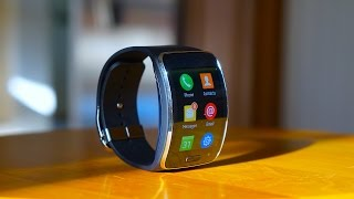 Download Samsung Gear S: First Impressions of Samsung's Wrist-Phone Video