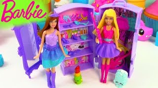 Download Barbie Doll The Princess and The Popstar Mini Playset Guitar Band Wardrobe Review Video