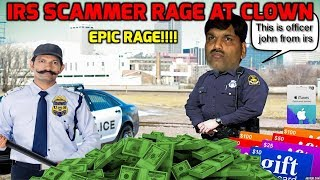 Download IRS Scammer Gets Trolled And Rages Video