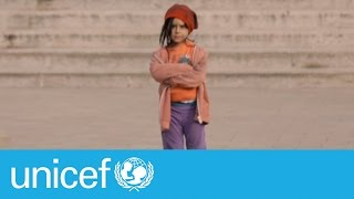 Download Would you stop if you saw this little girl on the street? | UNICEF Video