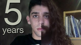 Download Five Years Time Lapse (half a decade of hair growth) Video