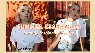 Download SUMMER ESSENTIALS 2018 | Beauty, Fashion & Lifestyle // Current Favorites Video