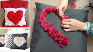 Download Como hacer Cojines con Corazon :: Decora Pillow diy: Pillow heart Video