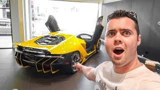 Download TAKING DELIVERY OF MY FRIEND'S NEW LAMBORGHINI!!! Video