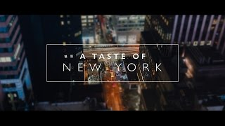 Download A Taste of New York Video