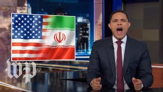 Download 'Mom, Iran hit me!: Late-night hosts tackle Trump's reaction to Iran threats Video