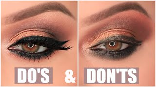 Download EYESHADOW DO's & DON'Ts Video