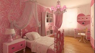 Download ديكورات غرف نوم بنات باللون البمبي والوردى اكثر من 30 تصميم مختلف بجودة عالية Video