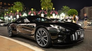 Download Aston Martin One 77 - Driving around in Monaco! Video