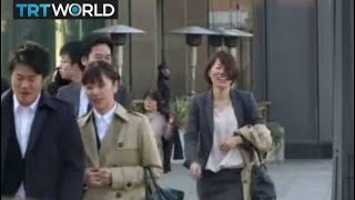 Download Demographic Challenge: Decline in marriage impacting Japan birth rate Video