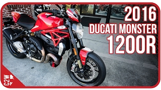 Download 2016 Ducati Monster 1200R | First Ride Video